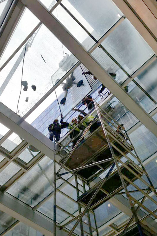 Emergency Glazing Repair Services by Glass Aftercare - London