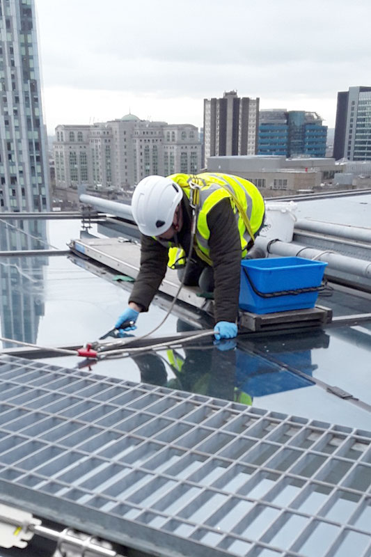 Health & Safety Glass & Façade Inspection