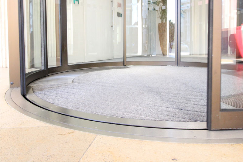 Curved, circular sliding and drum door Maintenance in london