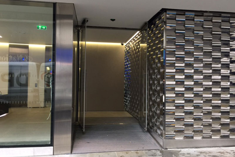 Automatic Swing Doors repair service by glass aftercare