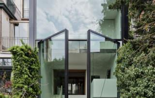 Oversized Glass Swing Doors