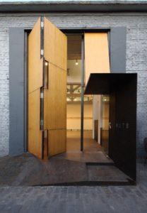 Unique oversized door